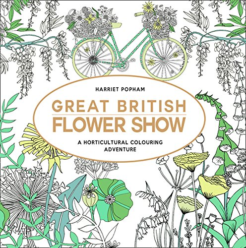 Great British Flower Show (Colouring Book)