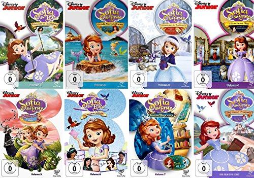 Sofia die Erste - Volume 1 - 7 Collection + Sofia - Der Film zur Serie ()