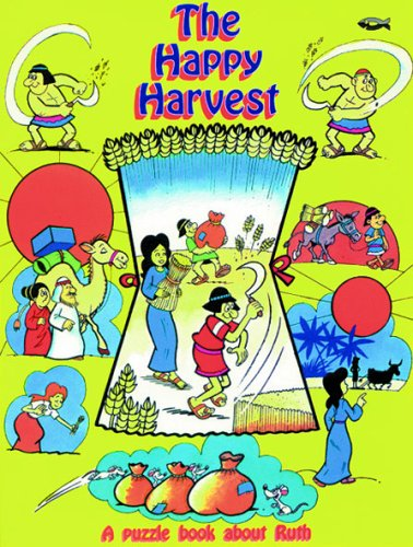 The happy harvest : a puzzle book about Ruth
