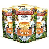 Paleo , 3 Pack : Paleo Pancake and Waffle Mix by Birch Benders, Made with Cassava, Coconut, Almond Flour, 36 Ounce (12oz 3-pack)
