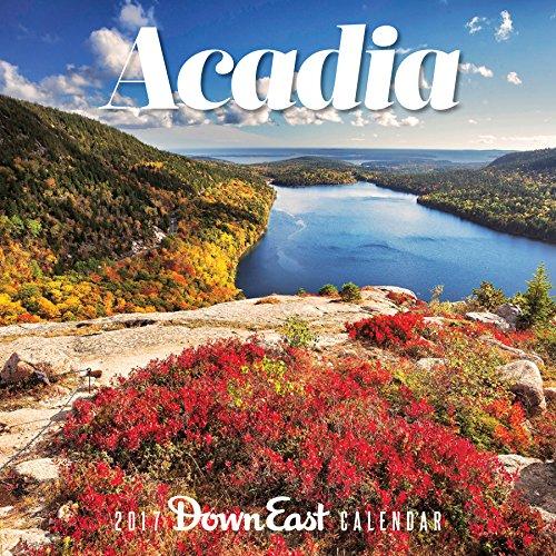 2017 Acadia Down East Wall Calendar -