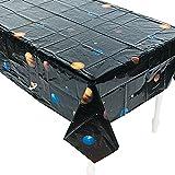 Elfen und Zwerge 1 x Tischdecke Weltraum Planeten Kindergeburtstag Dekoration Weltall Astronaut Kinderparty