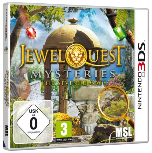 Jewel Quest Mysteries 3 - The Seventh Gate - [Nintendo 3DS] (S Quest Jewel)