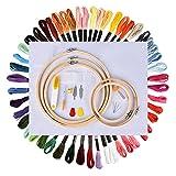 Stickerei Starter Kit, Hisome Stickerei Set Kreuzstich Tool Kit