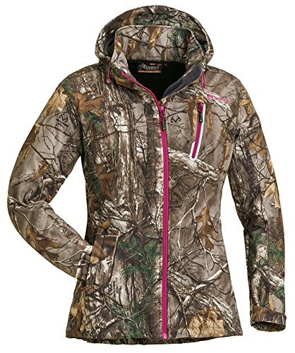 pinewood-veste-pour-femme-stretch-shell-camo-xl-realtree-camou-xtra-hot-pink