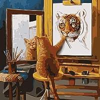 BOUNDAIR DIY Peinture par Numero Adulte, Peinture à l'huile Peindre par Nombre Kit sur Toile pour Débutant, Décoration…