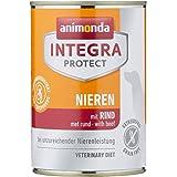 animonda Integra Protect cibo dietetico per cani, alimento umido in caso di insufficienza renale cronica, con manzo 6 x 400 g