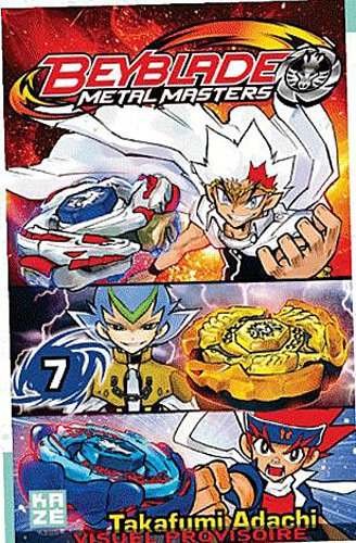 Beyblade Metal Fusion / Masters / Fury Edition simple Tome 7