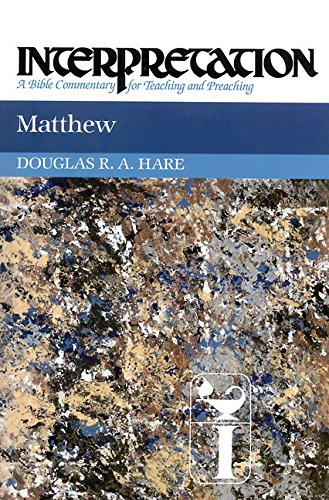 [(Matthew)] [By (author) Douglas R. A. Hare] published on (April, 1993)