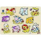Goki Puzzle d'incastro «Cuccioli»