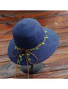 estate femminile cappello da sole Coprire la faccia Protezione solare spiaggia cappello Cravatta a farfalla cappello...