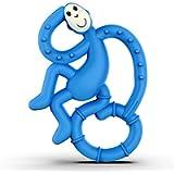 Matchstick Monkey Mini Monkey Teether, Blue