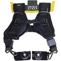 """Ozure Dual Mount Camera Shoulder Neck Sling Quick Strap & Fasten Adapter 1/4"""" Screw for DSLR,SRL Camera Strap (Black)"""
