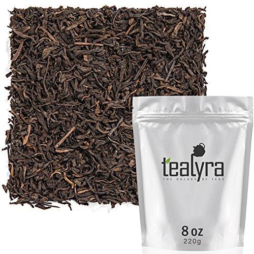Tealyra - 5 Years Aged - Pu erh Ripe - Loose Leaf Tea - 100% Natural - Caffeine Level High - Loose Weight Tea - Healthy Tea - 220g
