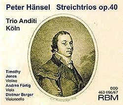 Hänsel: Streichtrios Op.40