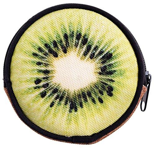 Kukubird Varia Stampa Portafoglio Con Il Sacchetto Di Polvere Di Kukubird Della Borsa Kiwi