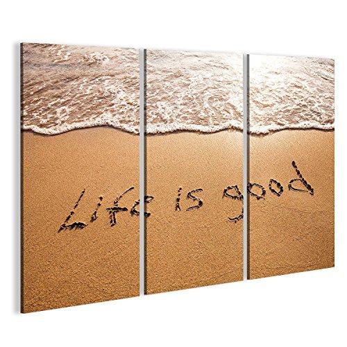 Cuadro Cuadros pensamiento positivo Impresión sobre lienzo - Formato Grande - Cuadros modernos FAP
