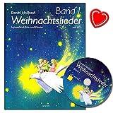 Canciones de Navidad banda 1para Flauta Dulce Soprano y Piano con CD y Bunter herzförmiger–Partituras Navidad Cancionero de Daniel claro Bach