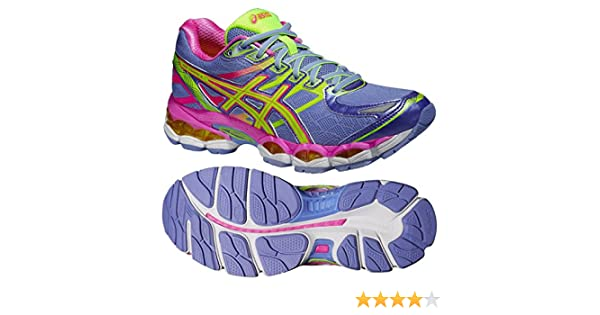 Asics gel evate 3 womens running trainer shoe purpleyellow