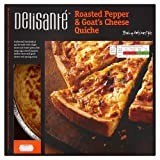DS Family Size Roasted Pepper & Goats Cheese Quiche 1.2kg