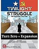 GMT Games GMT1915 Twilight Struggle Turn Zero Extension, Couleurs mélangées