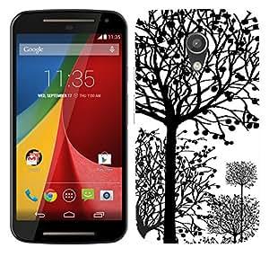 TrilMil Printed Designer Mobile Case Back Cover For Motorola Moto G (2nd Gen)