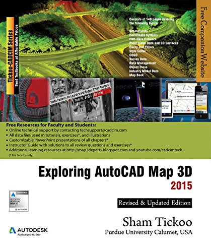Exploring AutoCAD Map 3D 2015 (English Edition)