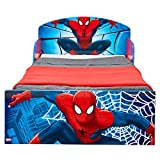 Spider Man Bett für Kleinkinder, Holz, blau, 143 x 77 x 42.5 cm