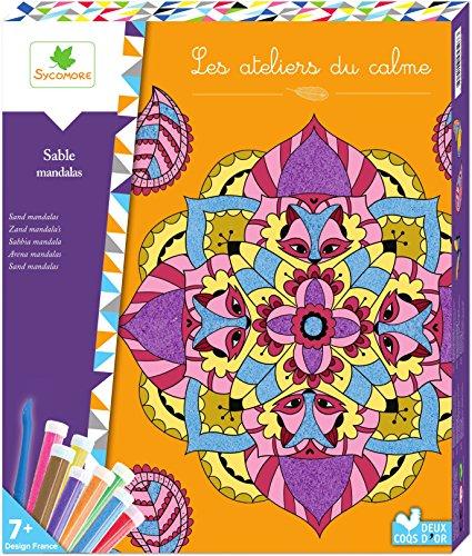 Les ateliers du calme Los Talleres De Tranquilidad-creh507-Tiempo Libre creativos-Tablas Arena-Lovely Box