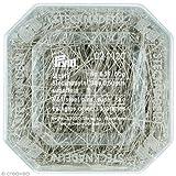 PRYM 024120 Stahlstecknadeln 30x0,50mm Superfein 50g