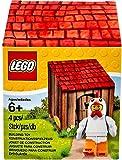 Lego 5004468 Uomo Pollo con Pollaio in cartone