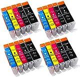 Hochwertige Tintenpatronen aus dem Hause Alaskaprint :die Patronen sind mit Chip,keine Probleme im Betrieb.die Vollstandsanzeige Funktioniert wie bei der Originalen PatronenDeutlich höhere Füllmenge als beim Originalpatronen, XXL Füllmenge.TOP Qualit...