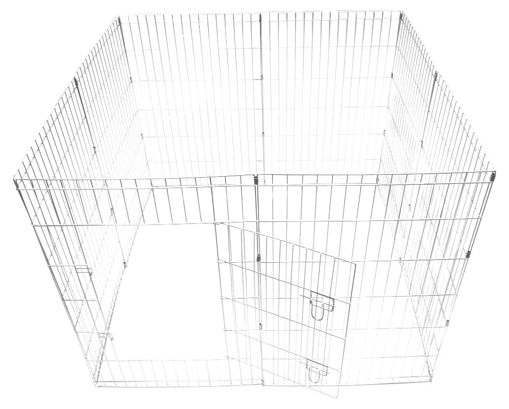 Ellie-Bo Easy-Up Puppy Rabbit Play Pen, 91 Cm, 8-Piece
