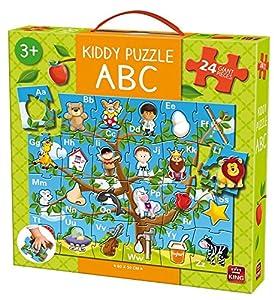 King Kiddy ABC Giant Puzzle 24 pcs Puzzle - Rompecabezas (Puzzle Rompecabezas, Dibujos, Niños, Kiddy, Niño/niña, 3 año(s))