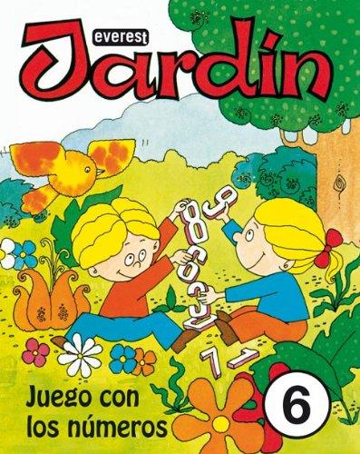 Jardín. Juego con los números 6 (Juego con los Números - Jardín) - 9788424172701