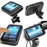EASY4BUY Waterproof Bike/ Motorcycle Mobile Holder Zip Pouch Style - 5.5inch for Yamaha Fazer