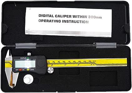 YIJIAHUI Calibri a Corsoio Digital Display Vernier Compasso Digitale ad Elevata precisione in Acciaio Inox nonio 0-150mm Scatola di immagazzinaggio per Lunghezza Larghezza profondità Diametro