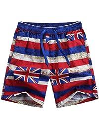 Bañador de Natacion Pantalones cortos de playa para hombres y mujeres