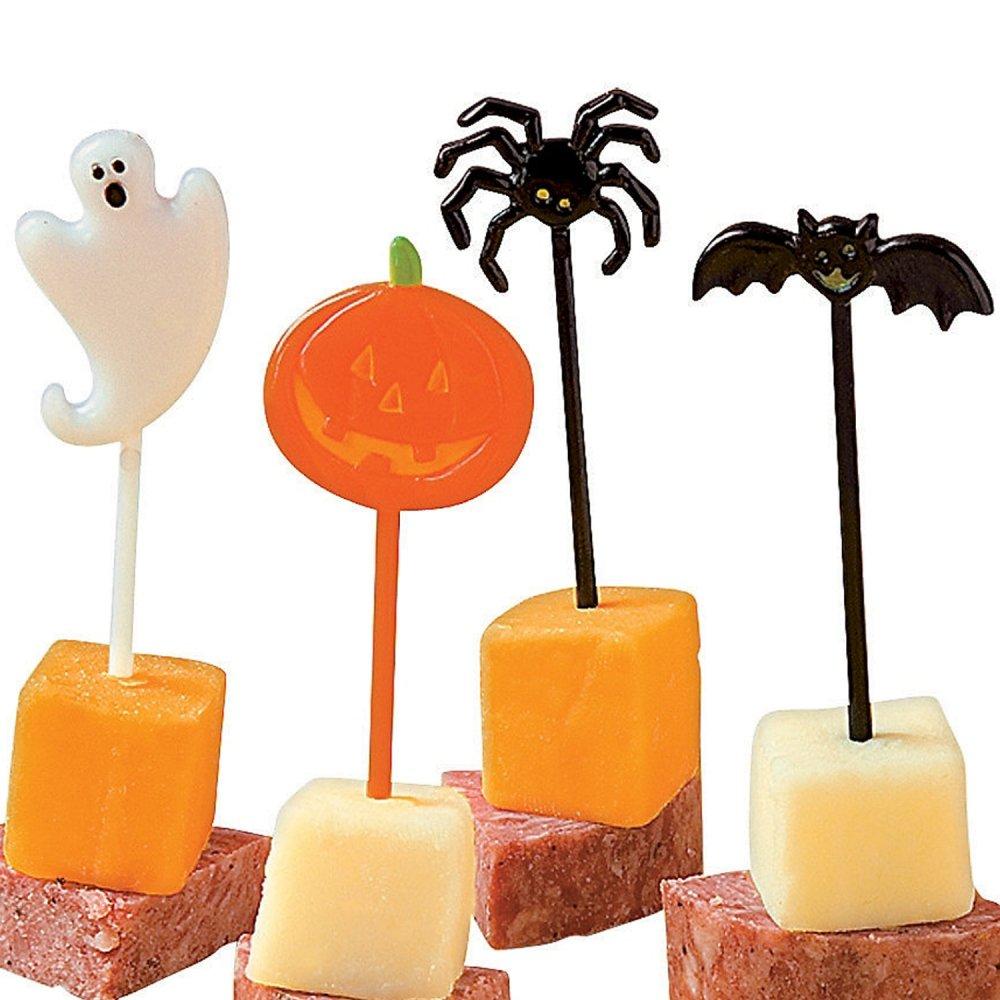 Elfen und Zwerge 24 Party Spieße Pieker Halloween Gespensterparty Picks Piercer Grusel Horror