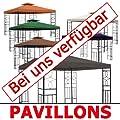 habeig Pavillon Seitenteile ANTHRAZIT mit Fenster & Reißverschluß an JEDER Seite Pavillion grau