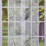 SCHÖNER LEBEN. Schiebevorhang Flächenvorhang Flächenschal Paneel Pusteblume grau 60x245cm