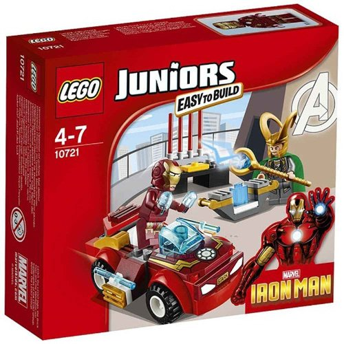 LEGO Juniors 10721 - Iron Man Contro Loki