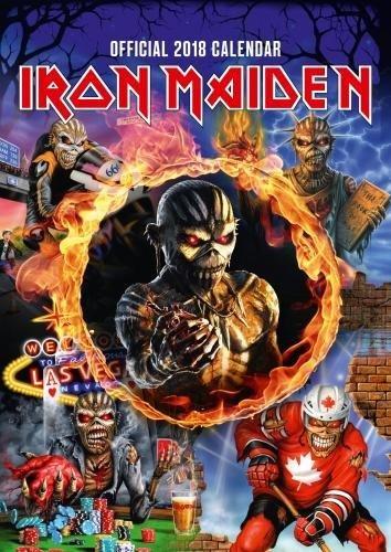 Iron Maiden Official 2018 Calendar - A3