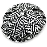 peacoco da uomo Classico Caps Pesce 8pannelli Vintage con visiera cappello