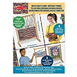 Melissa & Doug Wooden Multi-Craft Weaving Loom, Extra-Large Frame (57.80 x 41.91 cm)