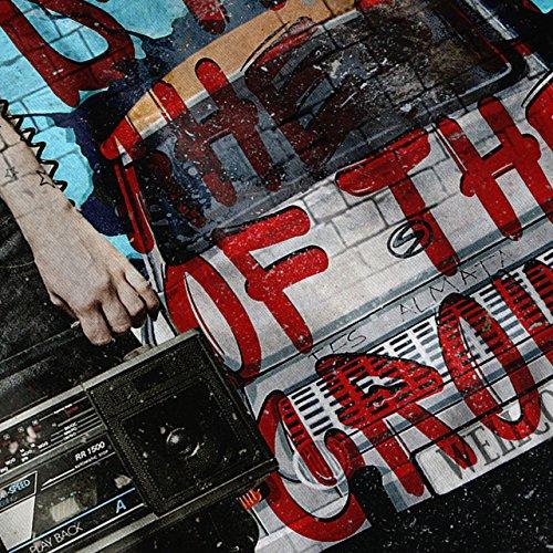 Städtisch Grafik Wellcoda Graffiti Spaß Damen S-2XL Muskelshirt | Wellcoda Schwarz