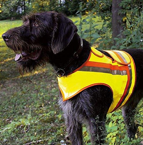 HUNDE-SIGNALWESTE Reflektorweste Hunde-Warnweste AKAH Bracken, große Terrier