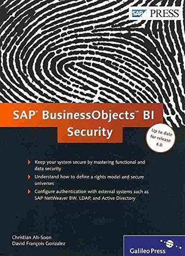 [(SAP Businessobjects BI Security)] [By (author) Christian Ah-Soon ] published on (December, 2012) par Christian Ah-Soon