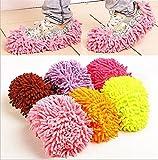 Oral-Q Reinigung Fuß von Schuh Mop Slipper Boden Staubwischen Cover Praktische Praktische Home 6pair