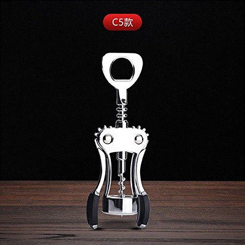 JIALE3536 Tire-Bouchon,Ouvre-Bouteilles À Ailette Ouvre-Bouteille De Vin Maison Et Vin Rouge,C5